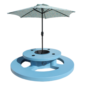 Kids floating picnic table rhino building products inc round floating picnic table adult watchthetrailerfo